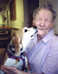 Pet therapy for dementia patients